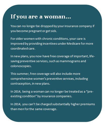 Affordable Care Act Benefits For Women