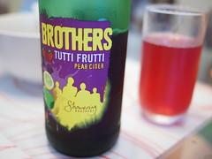 Brothers Tutti Frutti Pear Cider