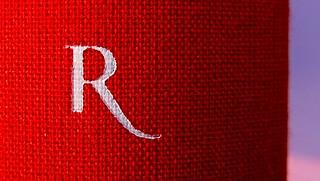 Chad Harbach, L'arte di vivere in difesa. Rizzoli 2011. Art director Francesca Leoneschi; graphic designer: Andrea Cavallini. Dorso (part.), 2