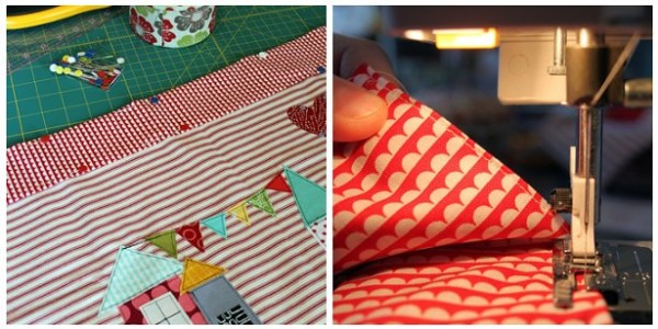 pin and sew waistband