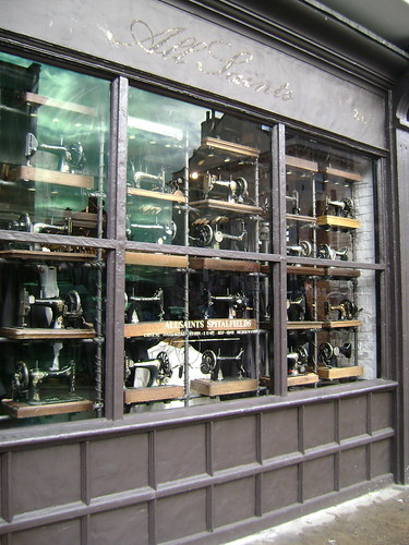 storefront sewing machines