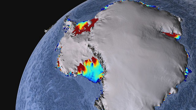 Warm Ocean Currents Cause Majority of Ice Loss from Antarctica [hd video]