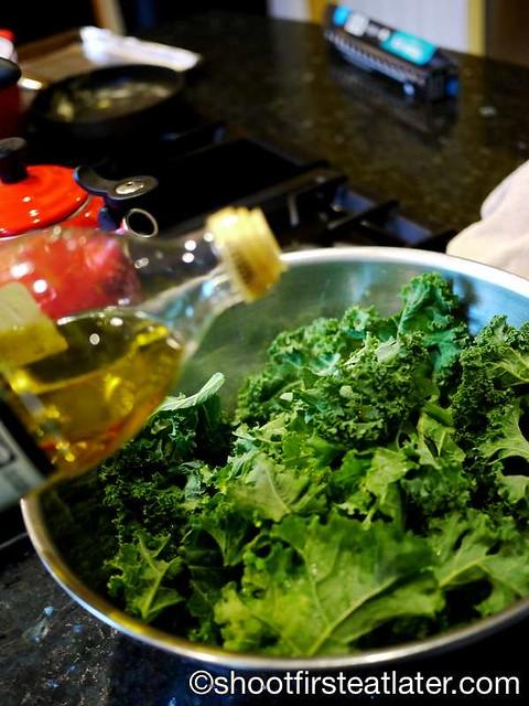 crispy baked kale chips -007