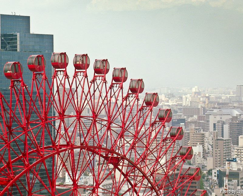 Norial del Hep Five en Osaka