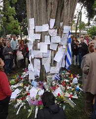 Dimitris Christoulas memorial