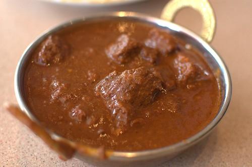 Beef Vindaloo curry