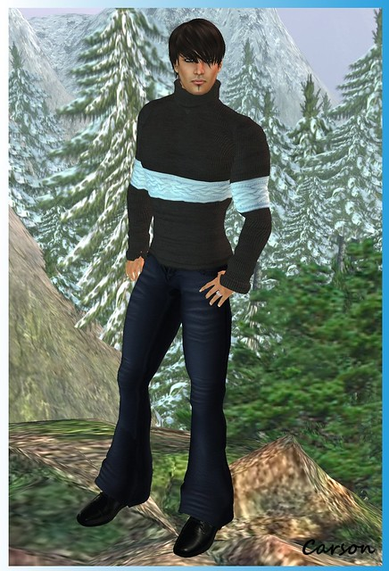 SAKIDE - Winter Twins Outfits for Season's Palette Hunt MEN Dusky Pants