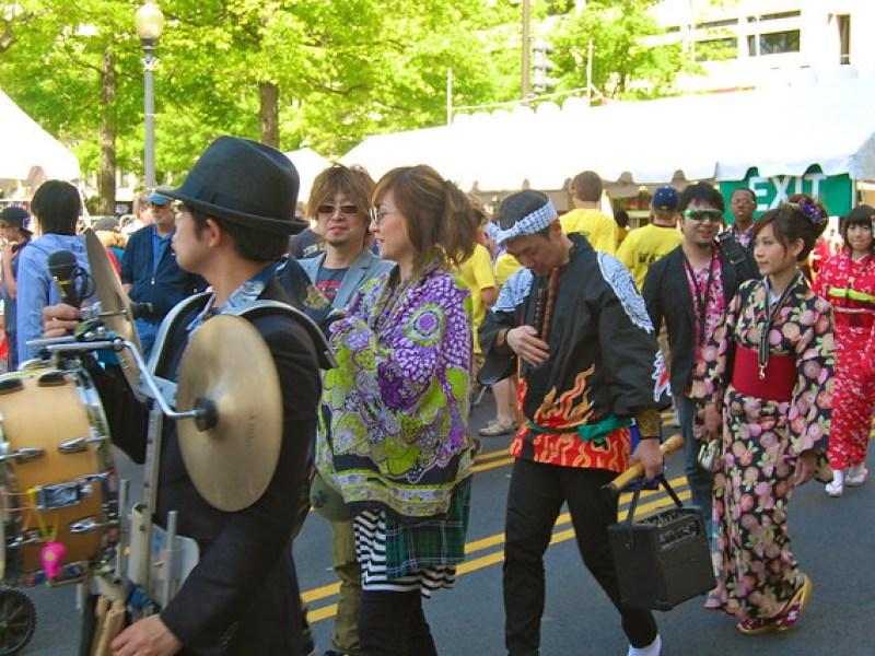 Cherry Blossom Street Festival 2012