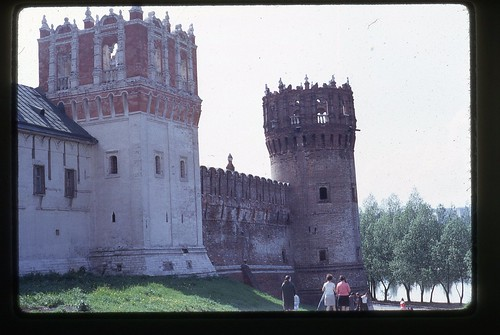 Towers of Novodevichy Convent, Moscow, 1969