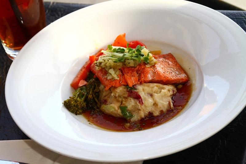 salmon, wharf, grille