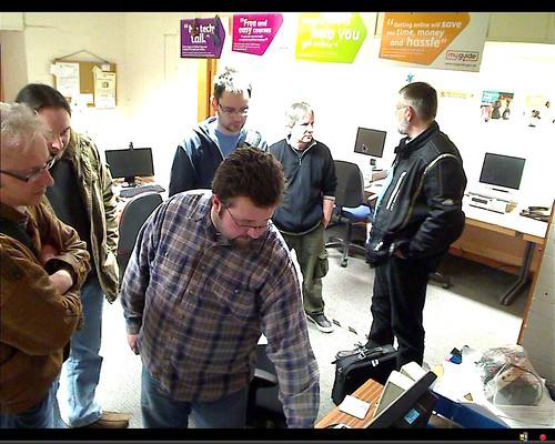 Blackpool LUG Meeting Google Hangout 250212