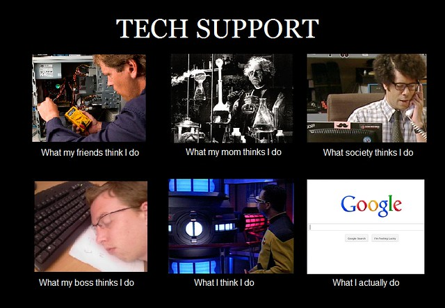 Life in tech support