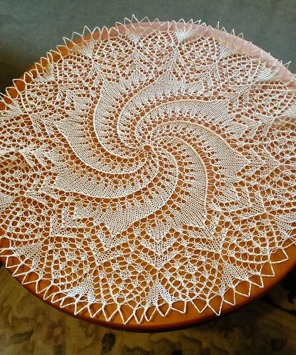 doily finished