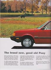 1985 Hyundai Pony Brochure 02