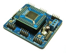 Board MikroAVR128 - NEXT SYSTEM Robotics Learning Center