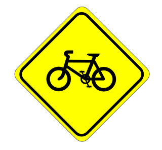 Watch for bikes