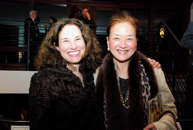 Linda Davis and Olivia Hsu Decker