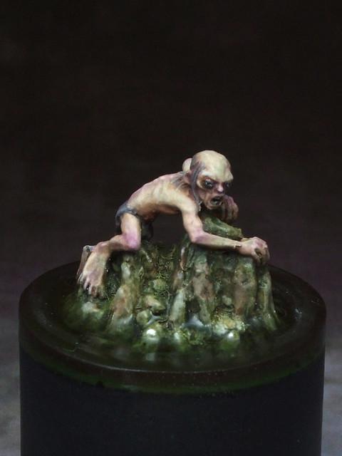 Gollum, in Miniature