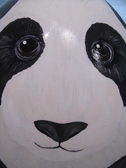 210 - Panda - The BlackRock Asian Egg by Jessica Graham