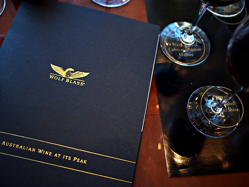 Tasting the Luxury Collection of Wolf Blass with Chief Winemaker, Chris Hatcher at the Tower Club, Republic Plaza, Singapore