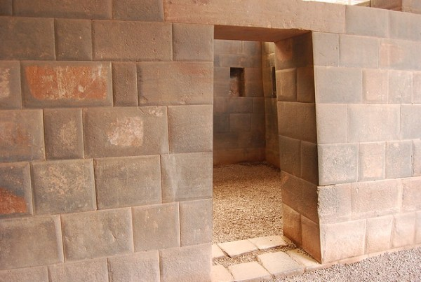 Muros incas en el Qorikancha de Cusco