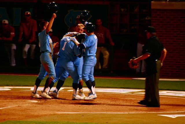 college baseball: nc state @ unc, game three