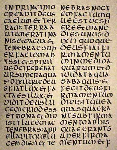First-Uncial