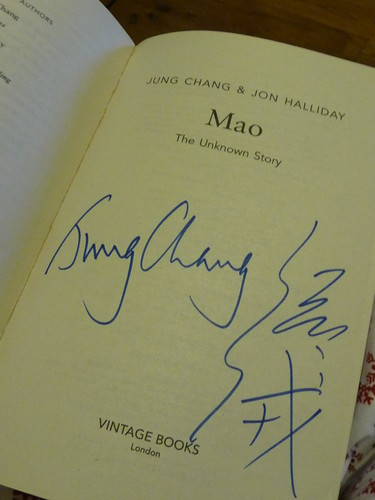 Jung Chang signed book