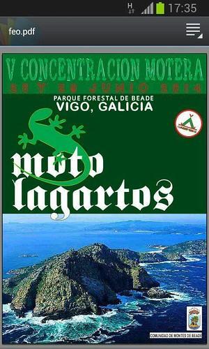 V Concentración Motera Moto Lagartos - Vigo