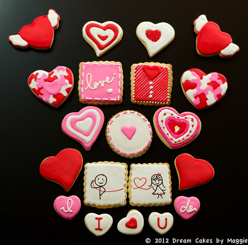 Valentine's Assorted Cookies