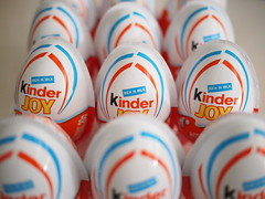 Kinder Joy chocolate eggs