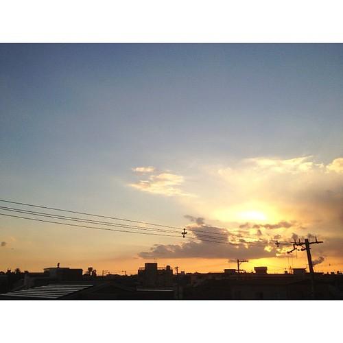 今日は、いま空シリーズで! #iphonography #instagram #iphone4s