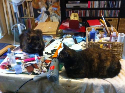 2 art helpers