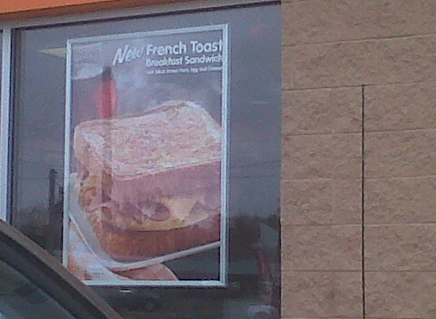 Dunkin French Toast Sandwich