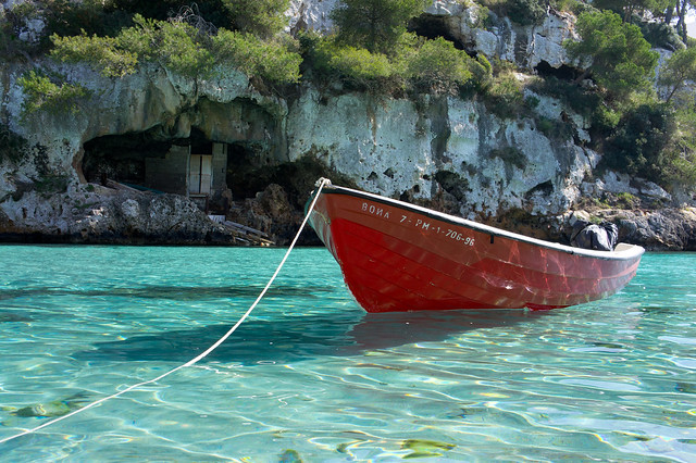 Little Red Fishing Boat