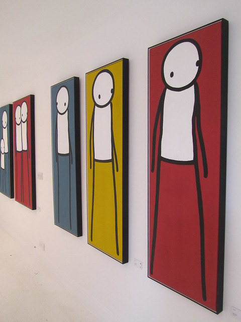 Walk by Stik at the Imitate Modern