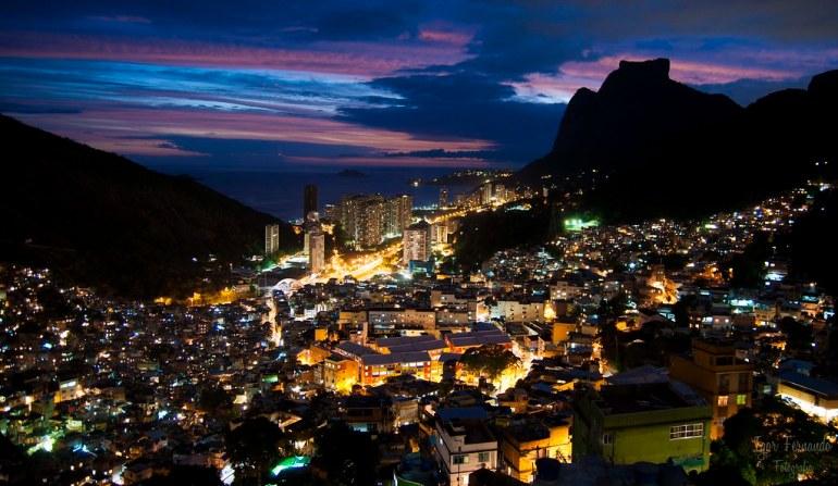 Rocinha views of rio