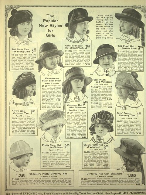 Catalogo de Moda de 1920
