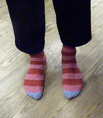 Nick Sharratt's socks