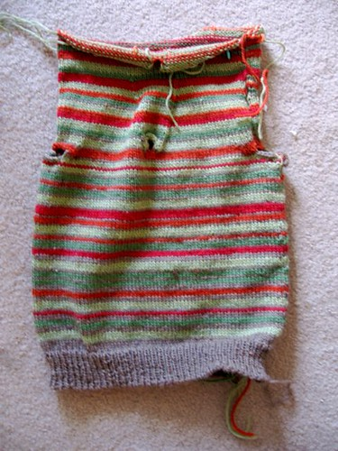 Striped Steeked Vest for a4a1c
