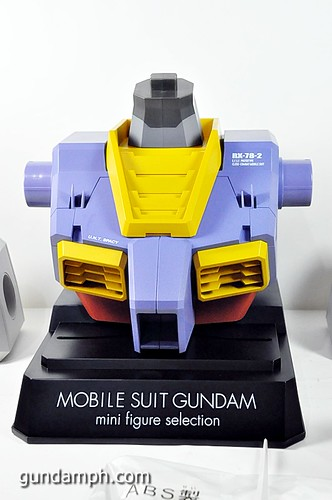 MSG RX-78-2 Bust Type Display Case (Mobile Suit Gundam) (22)