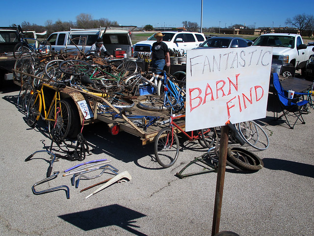 5th Annual Great Southwest Bike Swap – March 4, 2012