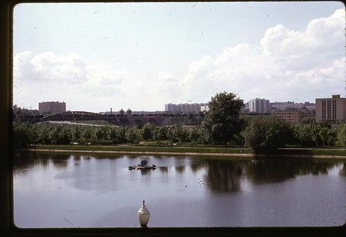 Krasnoluzhsky Bridge, Moscow, 1969