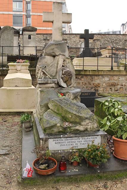 Tombe de Jules Slowacki