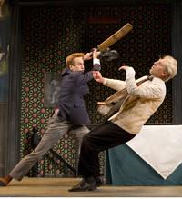 One Man, Two Guvnors.Music Box Theatre
