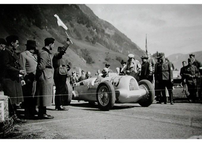 Auto Union C, Grossglockner 1938