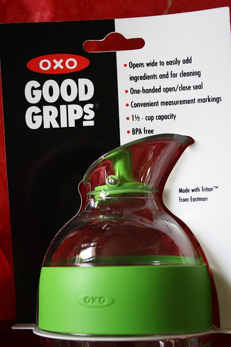 OXO Good Grips salad dressing top
