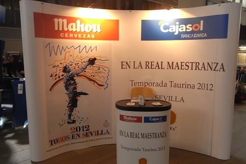 CajaSol y Cervezas Mahon patrocinadores Temporada Taurina Sevilla