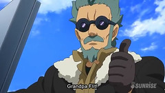 Gundam AGE 3 Episode 29 Grandpa's Gundam Youtube Gundam PH 0040