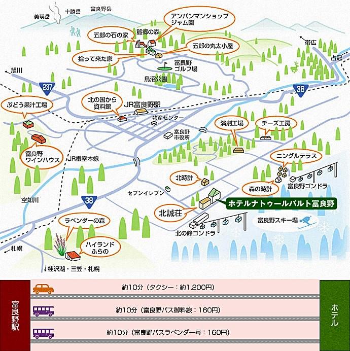 Furano Areamap